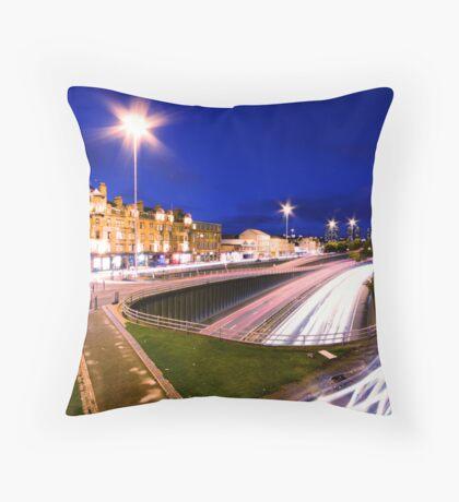 Charing Cross, Glasgow Throw Pillow