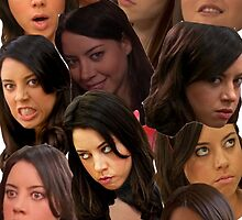 April Ludgate Collage by ash15b