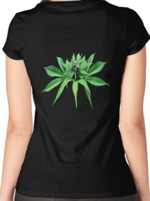 Top Head Cropped  Women's Fitted Scoop T-Shirt