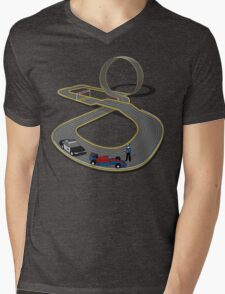 Slots Infringement Mens V-Neck T-Shirt