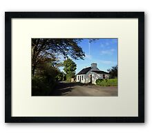 Rural Clare cottage Framed Print