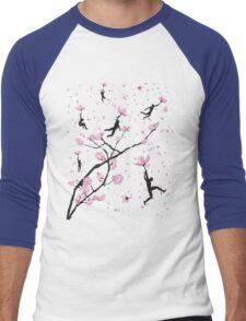 Blossom Flight Men's Baseball ¾ T-Shirt