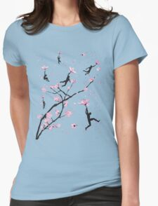 Blossom Flight Womens Fitted T-Shirt