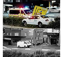 Like Night and Day - Taxi - 2009 Portfolio Project Photographic Print