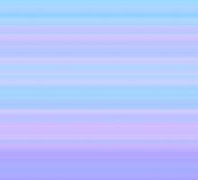 Rose-Blue-Violet Stripes by FireFairy