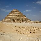 Step Pyramid of Djoser by Tom Gomez
