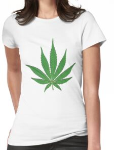 Hemp for freedom Womens Fitted T-Shirt