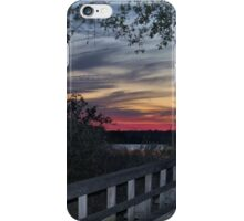 Sundown At The River iPhone Case/Skin