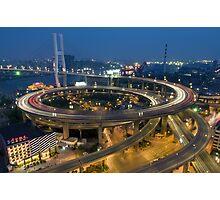 Chine - Shanghaï - Urban Trend Photographic Print