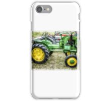 1946 Vintage John Deere Tractor iPhone Case/Skin
