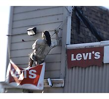 Now This Guy Likes His Levi's Photographic Print