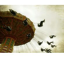 Swinging By Photographic Print