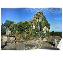 Killimer church ruins Poster