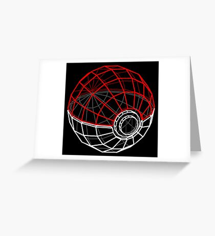 Pokeball 3D Greeting Card