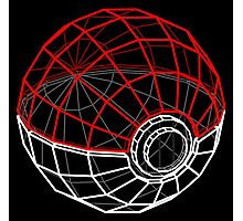 Pokeball 3D Photographic Print