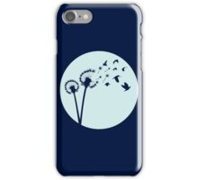 Dandelion Bird Flight iPhone Case/Skin