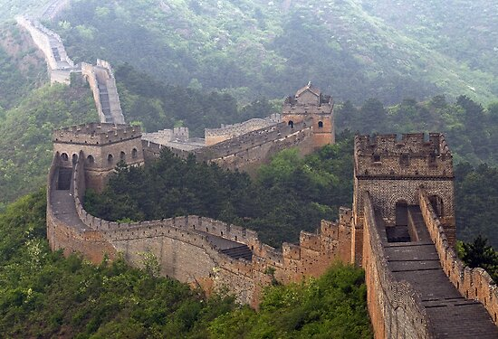 Chine 中国 - The Great Wall 长城 by Thierry Beauvir