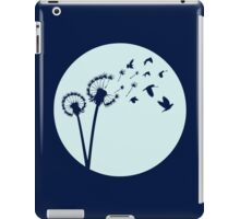 Dandelion Bird Flight iPad Case/Skin