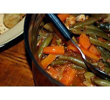 Beans & Carrots  Photographic Print
