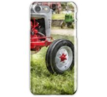 Vintage Ford Tractor Watercolor iPhone Case/Skin