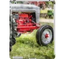 Vintage Ford Tractor Watercolor iPad Case/Skin