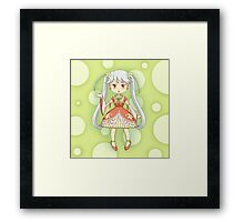 Jasmine Girl Framed Print