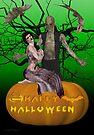 Zombie Halloween by LoneAngel