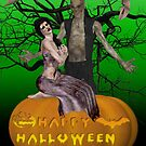 Zombie Halloween by LoneAngel
