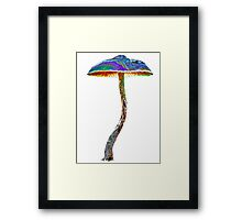 Psychedelic shroom Framed Print