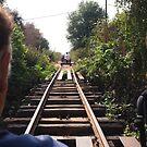 bamboo railway by OTOFURU