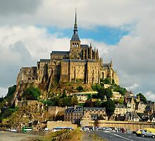 Le Mont-St-Michel  by Lanis Rossi
