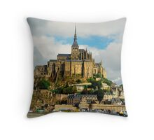 Le Mont-St-Michel  Throw Pillow