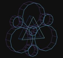 Coheed's Keywork in 3D- Serene One Piece - Long Sleeve