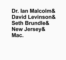 Jeff Goldblum Characters Unisex T-Shirt