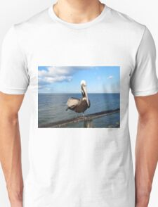 Sitting On The Pier T-Shirt