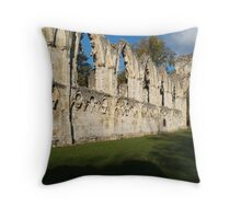 St. Mary's Abbey Throw Pillow