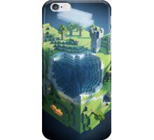 Minecraft world iPhone Case/Skin