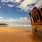 Maheno Shipwreck by Jennifer  Jamie
