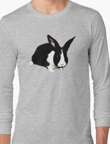 BLACK RABBIT CUTE  Long Sleeve T-Shirt