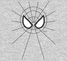Heros - Black Spidey One Piece - Long Sleeve