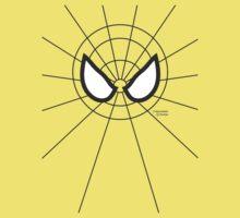 Heros - Black Spidey One Piece - Short Sleeve