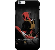 The Most Lethal Mercenary iPhone Case/Skin