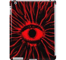 RED Mushy trip iPad Case/Skin