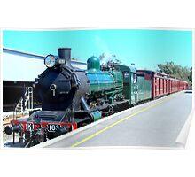 Locomotive K163 Poster