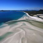 Whitehaven Beach by Jennifer  Jamie