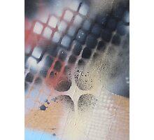 I heart stencils (detail #3) Photographic Print
