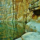 Rock Wall Reflections by mindy23