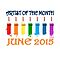 Artist of the month - JUNE 2015