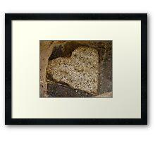 Rock Of Love Framed Print