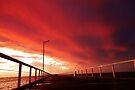 Sunset before a Storm by mindy23